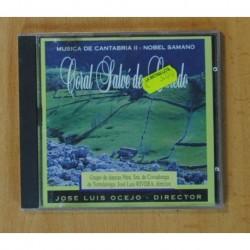 CORAL SALVE DE LAREDO / JOSE LUIS OCEJO - MUSICA DE CANTABRIA II - CD