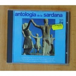 VARIOS - ANTOLOGIA DE LA SARDANA - CD