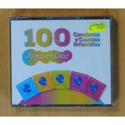 JOAQUIN DIAZ - 100 CANCIONES Y CUENTOS INFANTILES - 5 CD
