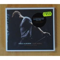 PABLO ALBORAN - TOUR TERRAL - 2 CD / DVD