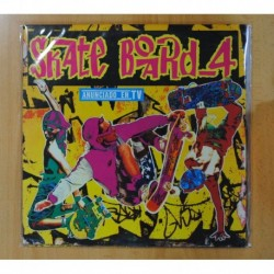 VARIOS - SKATE BOARD 4 - GATEFOLD - 2 LP