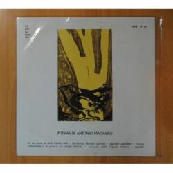 VARIOS - POESIAS DE ANTONIO MACHADO - LP