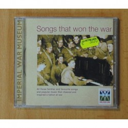 IMPERIAL WAR MUSEUM - SONGS THAT WON THE WAR - CD