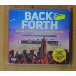 VARIOS - BACK & FORTH - 3 CD