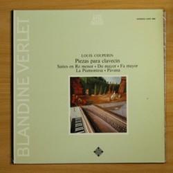 LOUIS COUPERIN - PIEZAS PARA CLAVECIN - LP