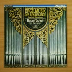 HERBERT TACHEZI - MUSICA PARA ORGANO DEL RENACIMIENTO - LP