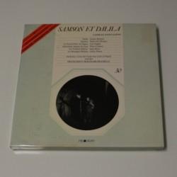 CAMILLE SAINT SAENS - SAMSON ET DALILA - BOX 3 LP