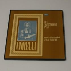 NEVILLE MARRINER - DOCE CONCERTI GROSSI OPUS 6 - BOX 3 LP