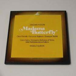 GIACOMO PUCCINI / ANGELO QUESTA - MADAMA BUTTERFLY - CONTIENE LIBRETO - BOX 3 LP