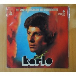KARLO - TE VOY A REGALAR UN CONTINENTE - LP