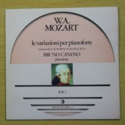 W. A. MOZART - LE VARIAZIONI PER PIANOFORTE VOL. 3 - LP