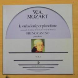 W. A. MOZART - LE VARIAZIONI PER PIANOFORTE VOL. 4 - LP