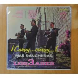 LOS 3 ASES - ¡CARAY... CARAY...! / MAS RANCHERAS - LP