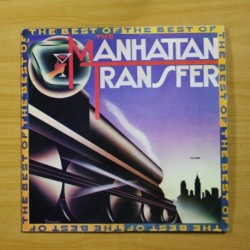 THE MANHATTAN TRANSFER - THE BEST OF - LP
