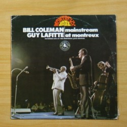 BILL COLEMAN / GUY LAFITTE - MAINSTREAM AT MONTREUX - LP