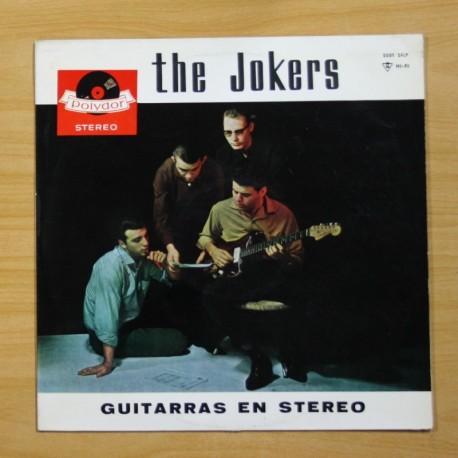 THE JOKERS - GUITARRAS EN STEREO - LP