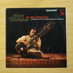 RAVI SHANKAR - EN SAN FRANCISCO - LP