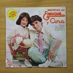 ENRIQUE Y ANA - MULTIPLICA CON ENRIQUE Y ANA - LP