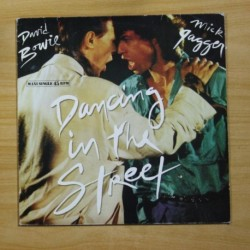 DAVID BOWIE / MICK JAGGER - DANCING IN THE STREET - MAXI