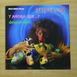 HELENA CROS - Y AHORA QUE DESPIERTATE - MAXI
