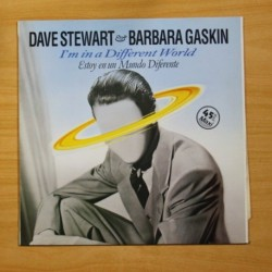 DAVE STEWART / BARBARA GASKIN - I´M IN A DIFFERENT WORLD - MAXI