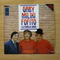 GABY MILIKI FOFITO - LA FAMILIA UNIDA - LP