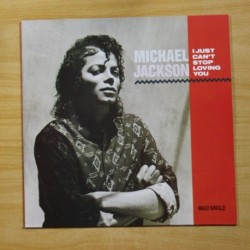 MICHAEL JACKSON - I JUST CAN´T STOP LOVING YOU - MAXI