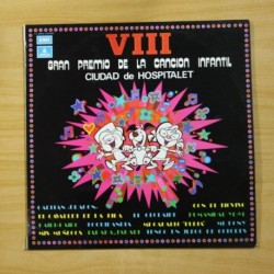 VARIOS - VIII GRAN PREMIO DE LA CANCION INFANTIL CIUAD DE HOSPITALET - LP