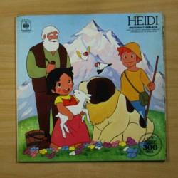 VARIOS - HEIDI HISTORIA COMPLETA - GATEFOLD - LP