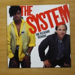 THE SYSTEM - THE PLEASURE SEEKERS - LP