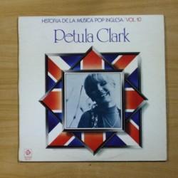 PETULA CLARK - HISTORIA DE LA MUSICA POP INGLESA VOL 10 - LP