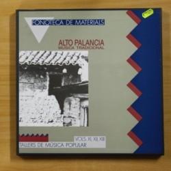 VARIOS - TALLERS DE MUSICA POPULAR VOLS XI, XII, XIII - INCLUYE LIBRETO - BOX 3 LP