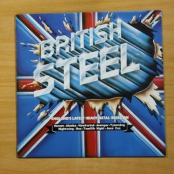 VARIOS - BRITISH STEEL - LP