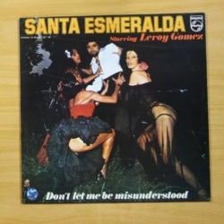 SANTA ESMERALDA / LEROY GOMEZ - DON´T LET ME BE MISUNDERSTOOD - LP