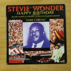 STEVIE WONDER - HAPPY BIRTHDAY - MAXI