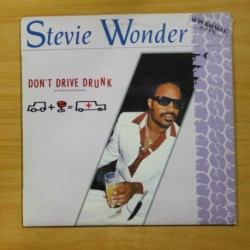 STEVIE WONDER - DON´T DRIVE DRUNK - MAXI