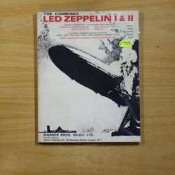 THE COMBINED LED ZEPPELIN I & II - LIBRO