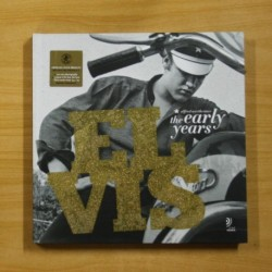 ELVIS THE EARLY YEARS - INCLUYE 3 CDS - LIBRO