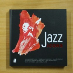 JAZZ ICONS - INCLUYE 8 CD - LIBRO