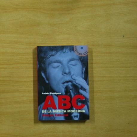 ANDRES RODRIGUEZ - ABC DE LA MUSICA MODERNA - INCLUYE CD - LIBRO