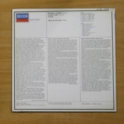 LORIN MAAZEL - BEETHOVEN SYMPHONY N. 5 OP. 67 / SCHUBERT SYMPHONY N 8 - LP [DISCO VINILO]