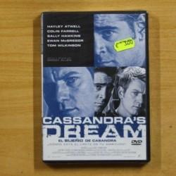 EL SUEÑO DE CASANDRA - DVD
