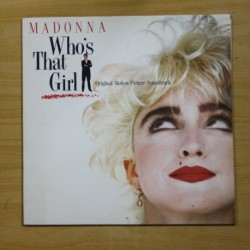 MADONNA - WHO´S THAT GIRL - LP