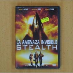 LA AMENAZA INVISIBLE STEALTH - DVD