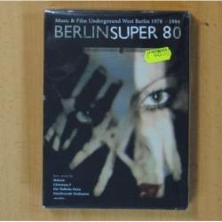 BERLIN SUPER 80 - MUSIC & FILM UNDERGROUND WEST BERLIN 1978-1984 - DVD