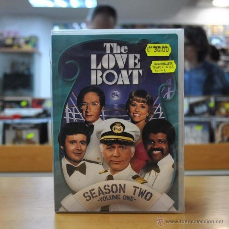 THE LOVE BOAT - SEASON TWO - VOLUME ONE - TEMPORADAS 1 Y 2 - ZONA 1 - DVD