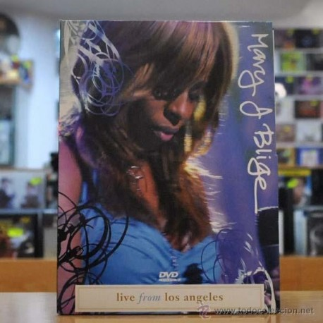 MARY J BLIGE - LIVE FROM LOS ANGELES - DVD