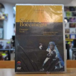 PETER HALL - SIMON BOCANEGRA - DVD