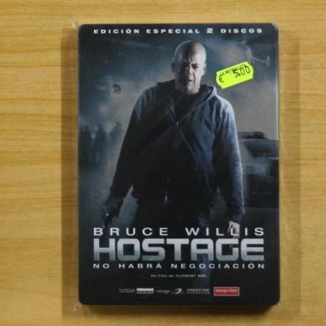 HOSTAGE - CAJA METALICA - DVD