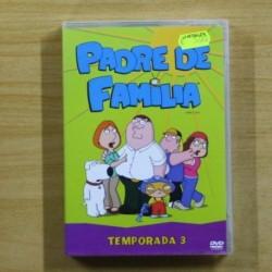 PADRE DE FAMILIA TEMPORADA 3 - DVD